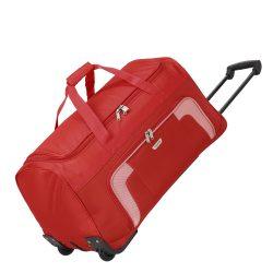 Travelite ORLANDO Piros nagy elegáns gurulós utazótáska