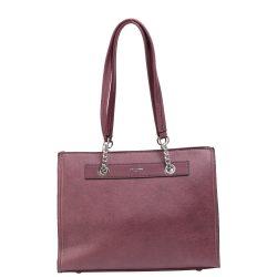 DAVID JONES CM5303 Bordó női táska
