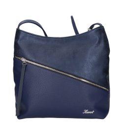 KAREN 1474 Kék rostbőr női táska