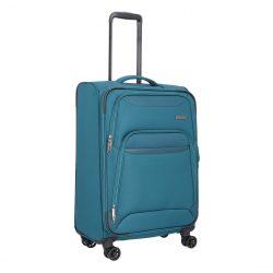 TRAVELITE Kendo L petrol 4 kerekű bővíthető nagy bőrönd