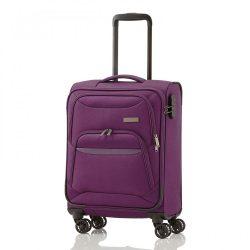 TRAVELITE Kendo S lila 4 kerekű kabin bőrönd
