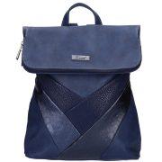 KAREN D 390 Kék rostbőr női hátizsák