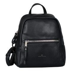 TOM TAILOR 26101-60 Fekete női hátizsák