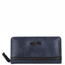 TOM TAILOR 24425-50 Kék női pénztárca
