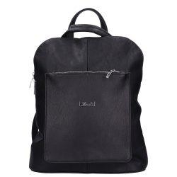 KAREN N 191 Fekete rostbőr női hátizsák