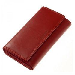 Pénztárca LA SCALA DN155 piros bőr