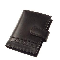 Kártyatartó CORVO BIANCO CCS808/T Fekete bőr férfi