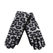 Kesztyű textil YN0250 Fekete párduc