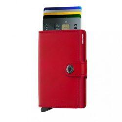 SECRID Miniwallet Piros-Piros mini pénztárca