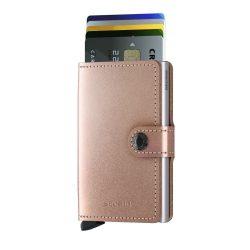 SECRID Miniwallet Metalic Rose mini pénztárca