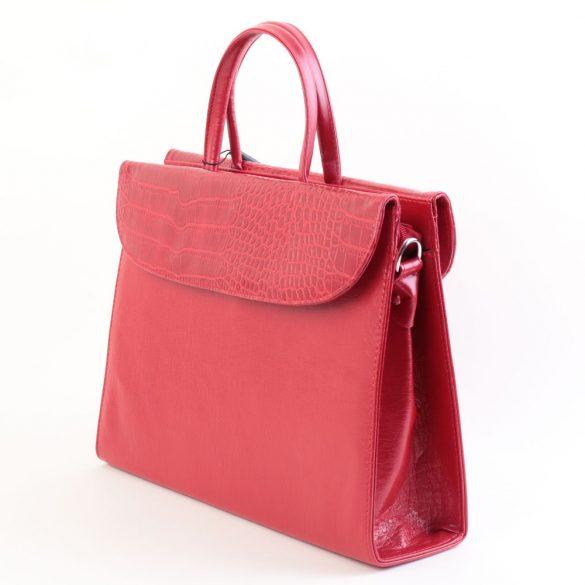 Aktatáska KAREN rostbőr női Piros 284